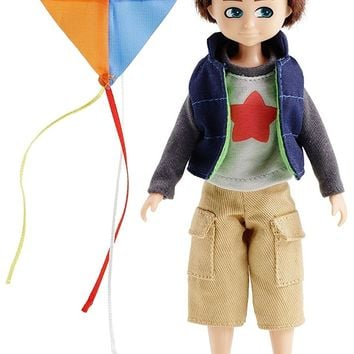 Kite Flyer Finn Boy Doll - Includes Kite