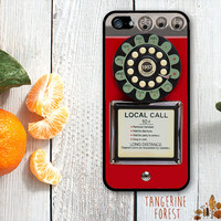 Vintage Payphone in Red, Orange, Pink or Mint. iPhone 4 // 4s // 5 // 5s // 5c