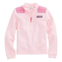 Girls Whale Stripe Shep Shirt