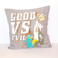 Phineas and Ferb Pillow