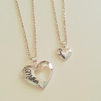 Mother Daughter Two Set Necklace