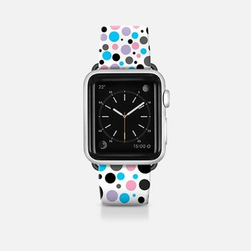 Mardi Gras Polka dots Apple Watch Band (42mm) by Christy Leigh | Casetify
