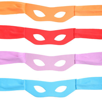 Teenage Mutant Ninja Turtles Eye Mask 4 Pack | Hot Topic