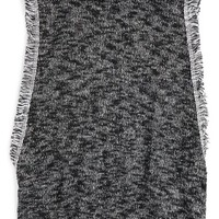 h.i.p. Mock Neck Knit Top (Big Girls) | Nordstrom