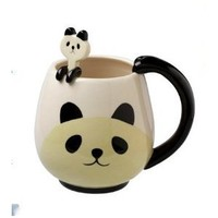 Panda Fancy Mug Cup Set with Spoon