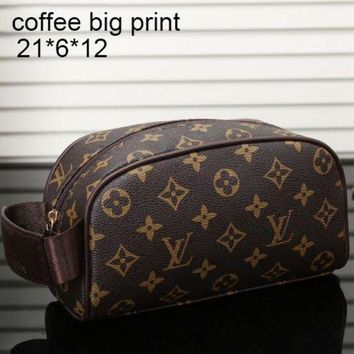 Lv Louis Vuitton Women's Elegant And Stylish High Quality Leather Shoulder Bag Tote Bag F Myjsy Bb Coffee Big Print