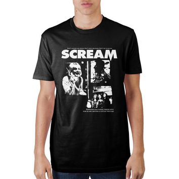 MPTS Scream Promo Poster T-Shirt