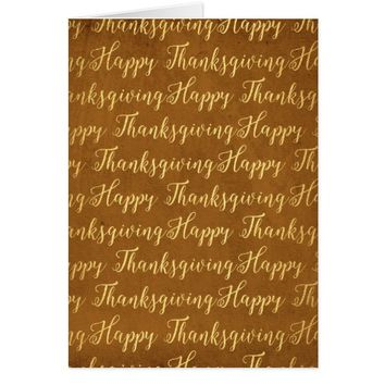 Happy Thanksgiving scripture Card