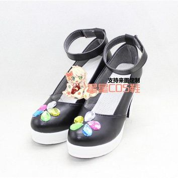 love live Cyber ver Honoka Kotori Umi Eli Nozomi Maki Rin Hanayo Nico cos  game Cosplay Shoes Anime Custom-made