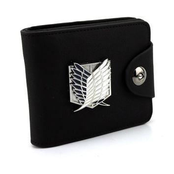 Attack On Titan Leather Wallet