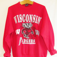 Vintage 1990's Wisconsin Badgers Sweatshirt