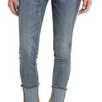 Miss Me High Rise Vintage Blue Ankle Skinny Jeans