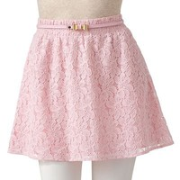 Candie's Lace Skirt - Juniors
