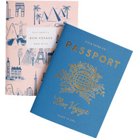 Passport Pocket Notebooks (Set of 2)