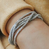 Charming Encounter Bracelet - Dove Grey