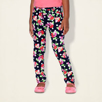 baby girl - jeggings - floral dot jeggings | Children's Clothing | Kids Clothes | The Children's Place