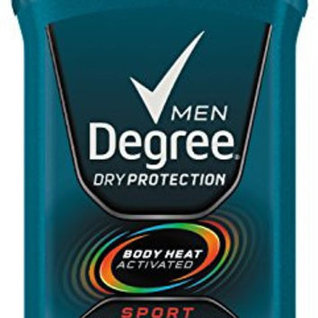 Degree Men, Invisible Solid Deodorant, Sport, Twin Pack, 5.4Ounce (Pack of 2)