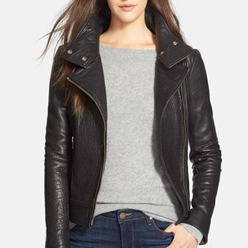 Lambskin Leather Jacket Womens | Outdoor Jacket