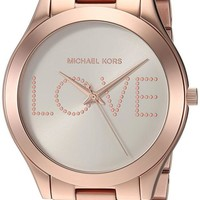 DCCKRQ5 Michael Kors Watches Slim Runway Watch