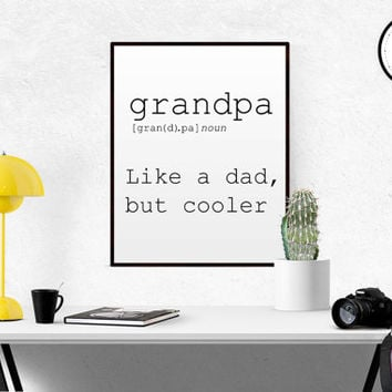 DEFINITION OF NANA Funny Wall Art Printable Definition Funny Gift For Mother Poster Definition Mother Day Gift Print Definition Typography