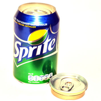 Sprite 12oz Soda Can Stash Safe Hidden Storage Secret Diversion