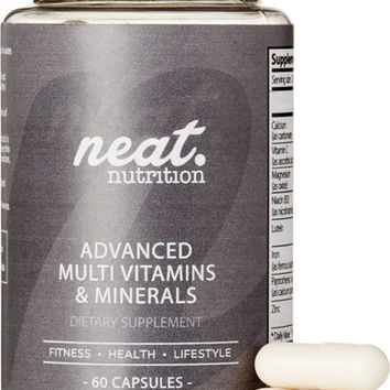 Neat Nutrition - Advanced Multivitamins & Minerals (60 Capsules)