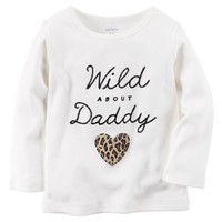 Carter's ''Wild About Daddy'' Tee - Baby