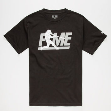 Hall Of Fame Batter Up Mens Shirt Black  In Sizes