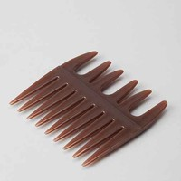 Eva NYC Argan Oil Mini Comb- Brown One