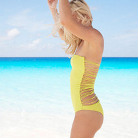 SANTORINI ONE PIECE | MIKOH SWIMWEAR