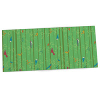 "Allison Beilke ""Hello Birdies"" Desk Mat, 22"" - Outlet Item"