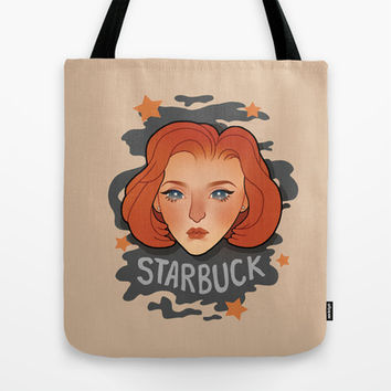 Starbuck Tote Bag by Owltrinkets