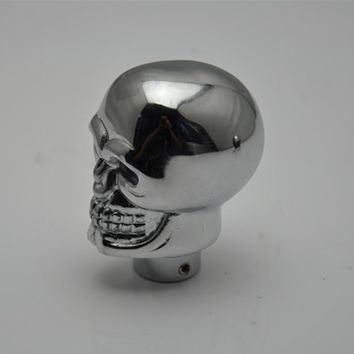 Universal  manual  Gear lever/Gear Shift Knob /Shifter lever skull LED  fit for X1 X2 X3 X5