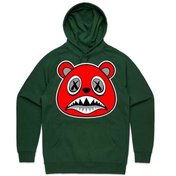 Angry Baws Forest Green Sneaker Hoodie