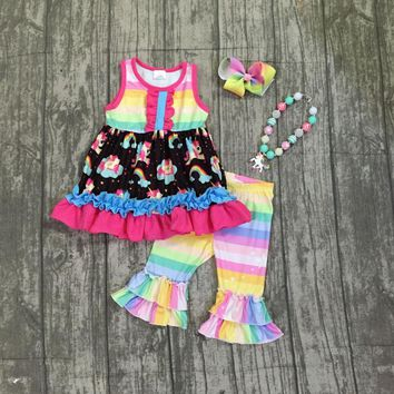 Unicorn Rainbow Outfit with Accessories
