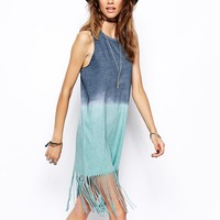 ASOS Swing Dress with Festival Fringe