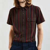 Brixton Roland Stripe Short-Sleeve Button-Down Shirt