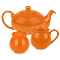 Waechtersbach Fun Factory 3-Piece Tea Set in Orange