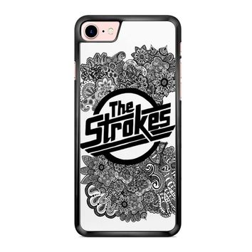 The Strokes Zentangle Logo iPhone 7 Case