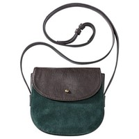 Merona® Mini Suede Crossbody Bag - Olive