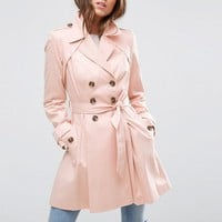 ASOS Skater Trench Coat at asos.com