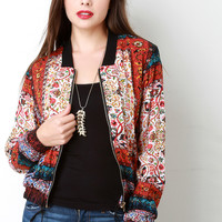 HIPPIE BOMBER JACKET