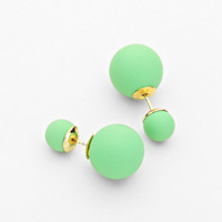 Matte Double Sided Earrings