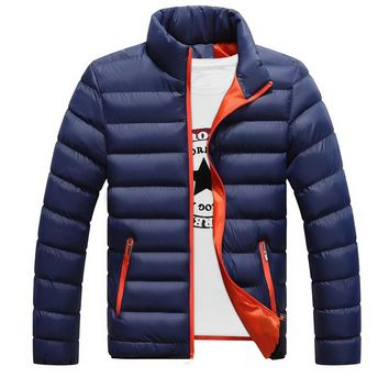 Winter Brand Men's High Quality  Long Sleeves Men's Jackets And Coats Thick Parka Men Keep warm Outwear