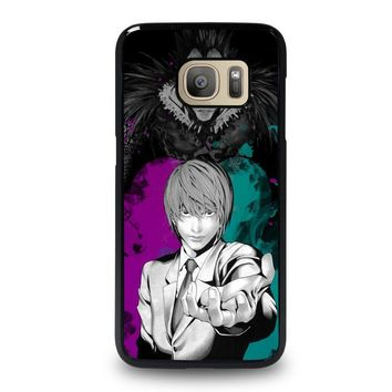 LIGHT AND RYUK DEATH NOTE Samsung Galaxy S7 Case Cover