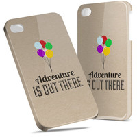 Adventure is Out There Pixar Disney - Hard Cover Case iPhone 5 4 4S 3 3GS HTC Samsung Galaxy Motorola Droid Blackberry LG Sony Xperia & more