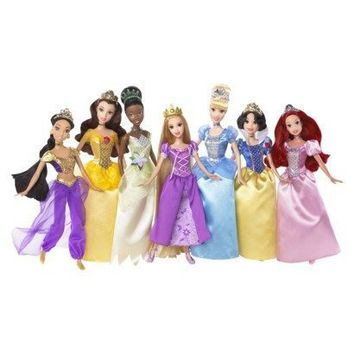 Disney Princess Exclusive Doll Figure 7Pack Ultimate Disney Princess Collection
