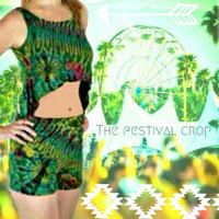 The Festival Tie Dyed Crop Top
