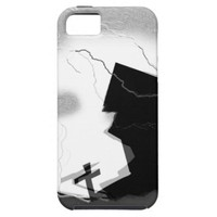 Halloween Home on Hill iPhone 5 Cover