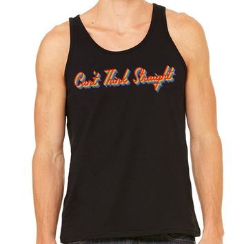 Can't Think Straight Pride Unisex Tank